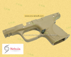 Nebula Original Frame for WE M&P9C (TAN/Marking)